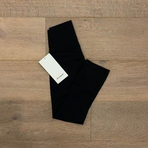 "NWT Lululemon Wunder Under Crop High Rise 21"" Blck"